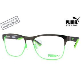 09af384e7b Lentes Puma Pu1110 004 Black Green Oftalmico Original A Msi