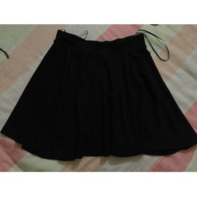 Minifalda Negra Talla S Marca Bershka