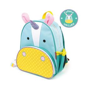 Mochila Infantil Skip Hop Zoo Unicornio Original Escolar