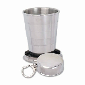Vaso 140 Ml Camping Outdoor Retractil Plegable Pesca