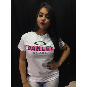 Camiseta Oakley Feminina - Camisetas e Blusas Manga Curta no Mercado ... 4930b28f255