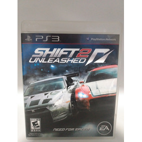 Need For Speed Shift 2 Unleashed Jogo De Ps3 Fisico(cd)