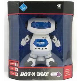 El Duende Azul Robot X 360 Movimiento Luz Y Sonido 6540