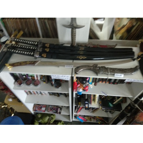 Lote 3 Espadas Katanas Samurai Kill Bill Filme Tamanho Real