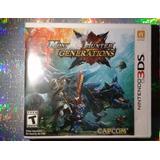 Nuevo Monster Hunter Generations Nintendo 3ds 2ds