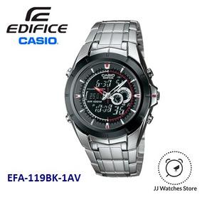 3ca9dc194d76 Reloj Casio Edifice Negro Relojes - Relojes Pulsera Masculinos en ...