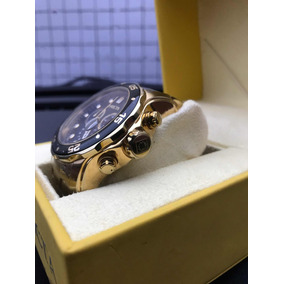 ad65d721a47 Relógio Invicta Original Pro Driver 0072 Banhado A Ouro 18k