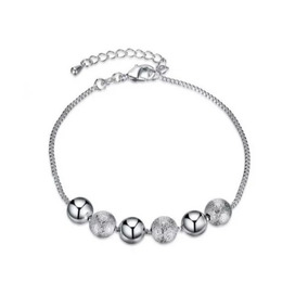 Pulseira De Bolinhas Prata Estilo Tiffany - Joias e Bijuterias no ... 30d30f1ec8