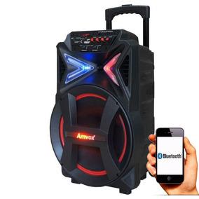 Caixa Som Bluetooth 290w Potente Amplificada Amvox