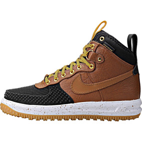 pretty nice 03860 4365e Tenis Nike Air Force One Duckboot Cafe Negro Original