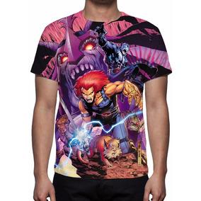 Camisa, Camiseta Anime Thundercats - Estampa Total