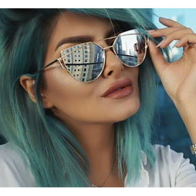 Oculo Gucci Feminino Espelhado Colorido - Óculos De Sol no Mercado ... 4c57614d60
