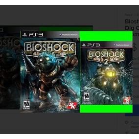 Bioshock 1 E 2 Ps3 Psn Dig Comprou Chegou Promoção