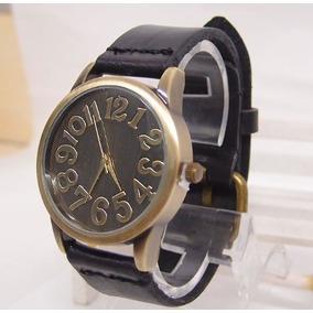 Relógio Feminino Vintage Pulseira De Couro Retro