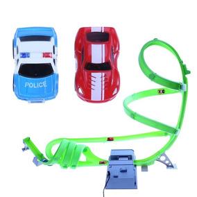 Brinquedo - Pista De Carrinhos Com Loop / Elétrica Ou Pilha