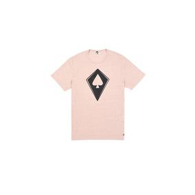 Camiseta Mcd Regular Litho Spade Rosa M - Camisetas Manga Curta no ... 4ad4aa72328