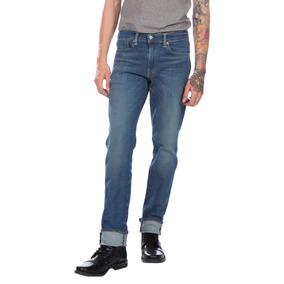 Calça Jeans Levis Masc 511 Slim Perf Stretch Azul Médio