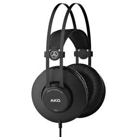 Fone De Ouvido Akg Headphone K52 Profissional Preto Original