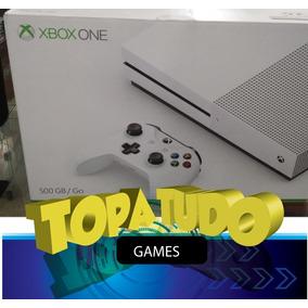 Xbox One S Branco 500gb Microsoft Lacrado + Battlefield 1