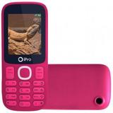 Ipro I3200 Rosa Dual Sim 32mb Rádio Fm Bluetooth