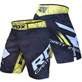 Short Mma Kickboxing Muay Thai Pesas Crossfit