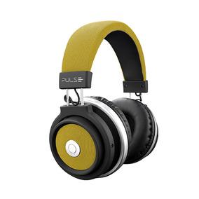 Fone De Ouvido Pulse Headphone Ph233 Bluetooth Large Amarelo