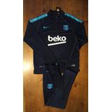 Conjunto Inverno Barcelona Azul Treino Blusa - Envio Rapido afd7ee495ed3c