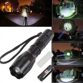 Lanterna Tática Led T6 Recarregável Policial Melhor Que X900