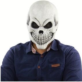 Exclusiva Máscara Cosplay Crânio Humano Realista Promoção !