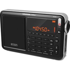 Radio Grundig Eton Satellit Am Fm Oc Banda Aerea Preto 12x
