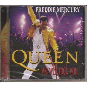 Freddie Mercury & Queen We Will Rock You Cd Lacrado + Barato