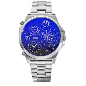 f56a6399ec9 Relógio Blue Planet Estilo Casio - Joias e Relógios no Mercado Livre ...