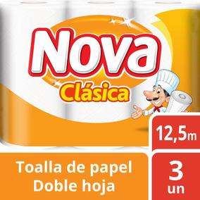 Toalla Nova Clásica 3 Unidades 12,5m