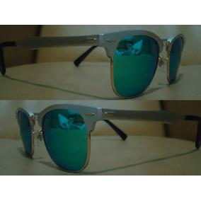 f02610a267960 Oculos Prata Rayban Clubmaster Espelhado - Óculos De Sol no Mercado ...