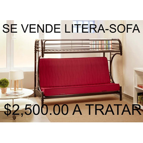 Camas Litera Con Sofa Cama En Mercado Libre México
