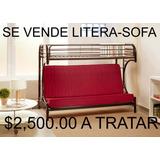 Litera Con Sofa Cama Abajo Hogar Muebles Y Jardín En Mercado