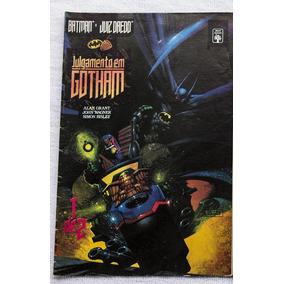 Batman Juiz Dredd Julgamento Em Gotham Parte 1