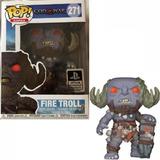 Funko Pop 271 - Fire Troll - God Of War Ps4 - 100% Original
