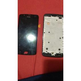 Tela Display + Touchscreen Motog5