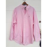 Camisa Polo Hombre Classic Fit 18-34 35 Rayas Rosado Nuevo e74e1a1fb4b