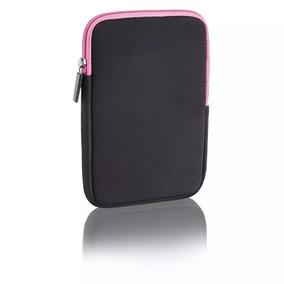 Capa Case Neoprene Multilaser P Netbook 7 Preto/rosa Bo116