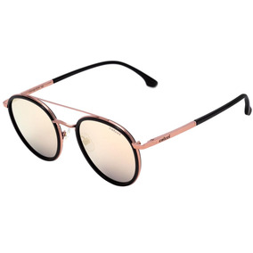 34ce5d028a6fb Colcci C0108 - Óculos De Sol Rosê E Preto Brilho  Rosê Espel