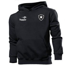6a70b22c90 Blusa Moleton Casaco Botafogo Futebol Estampado
