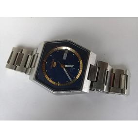 1013ccb2deb Lote Com 5 Relogios Automaticos Antigo Feminino Leilão !! Usado - Paraná ·  Diferente Seiko Azul Hexagonal Aço Automático 40x38mm 1970s