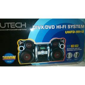 Equipo De Sonido Reproductor De Musica Mp3 Mp4 Usb Utech