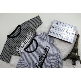 Blusa Feminina Los Angeles Coleção Nova Promoção 2ee3d3ec385