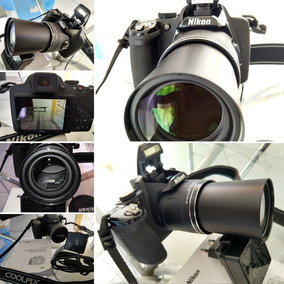 Oportunidade! Câmera Semi Profissional Nikon P530 42x