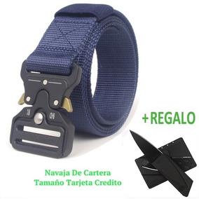 Cinturón Táctico Militar Tipo Asalto + Tarjeta Navaja Y 11x1