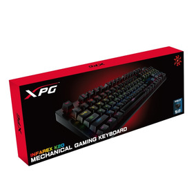 Teclado Gamer Adata Xpg Mécanico Rgb Infarex K20