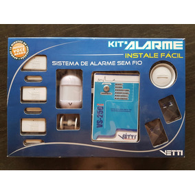 Kit Alarme Vetti 250 Plus Discadora Integrada Na Caixa
